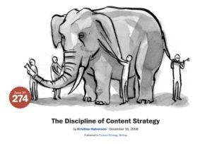 Discipline Content Strategy Kristina Halvorson Espanol Sr Rey